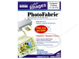 Transfers 11 in: Blumenthal Crafter's Images PhotoFabric 8 1/2 x 11 in. Cotton Canvas 5 pc.