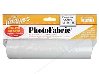 Castilleja Cotton: Blumenthal Crafter's Images PhotoFabric Roll Cotton Twill