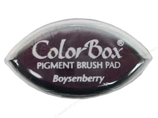 Clearsnap ColorBox Pigment Inkpad Cat's Eye: ColorBox Pigment Inkpad Cat's Eye Boysenberry
