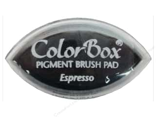 Clearsnap ColorBox Pigment Inkpad Cat's Eye: ColorBox Pigment Inkpad Cat's Eye Espresso