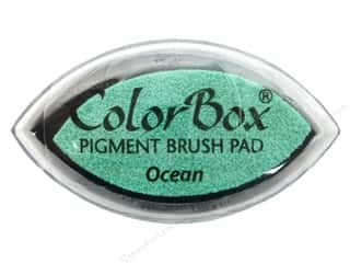 Clearsnap ColorBox Pigment Inkpad Cat's Eye: ColorBox Pigment Inkpad Cat's Eye Ocean