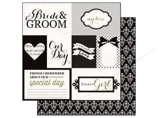 Echo Park 12 x 12 in. Paper You & Me Bride & Groom (15 piece)