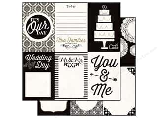 Echo Park 12 x 12 in. Paper You & Me Wedding Day (15 piece)