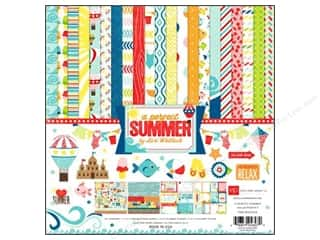 "Echo Park Collection Kit 12""x 12"" A Perfect Summer"