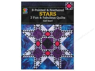 8 Pointed & Feathered Stars Book