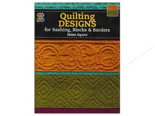 American Quilter's Society $8 - $10: American Quilter's Society Quilting Designs For Sashing, Blocks & Borders Book by Helen Squire