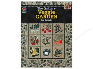 Pillow Shams $11 - $12: American Quilter's Society The Quilters Veggie Garden Book by Bea Oglesby