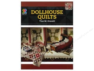 Books & Patterns American Quilter's Society: American Quilter's Society Dollhouse Quilts Book by Tina Gravatt