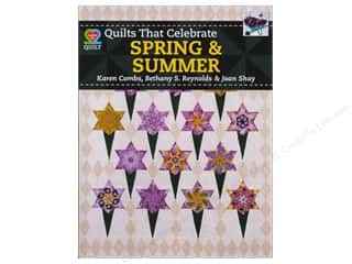 Summer Camp $2 - $4: American Quilter's Society Quilts That Celebrate Spring & Summer Book by Karen Combs, Bethany Reynolds & Joan Shay