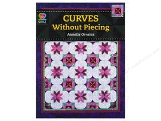 Purse Making American Quilter's Society: American Quilter's Society Curves Without Piecing Book by Annette Ornelas