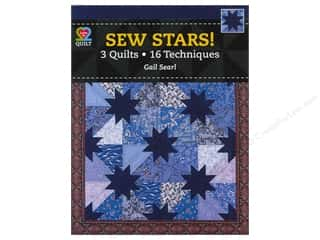 Clearance Sewing & Quilting: American Quilter's Society Sew Stars! 3 Quilts, 16 Techniques Book by Gail Searl