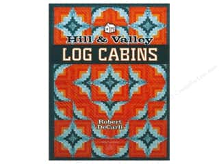 Books & Patterns American Quilter's Society: American Quilter's Society Hill & Valley Log Cabins Book by Robert DeCarli