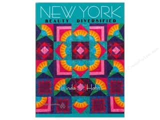 New Books: American Quilter's Society New York Beauty Diversified Book by Linda Hahn