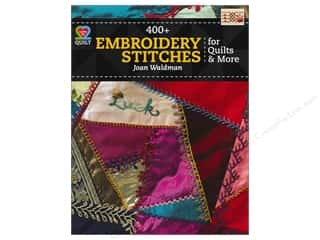 needlework book: 400+ Embroidery Stitches For Quilts Book