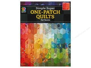 American Quilter's Society $8 - $10: American Quilter's Society Simple Super One Patch Quilts Book by Pat Yamin