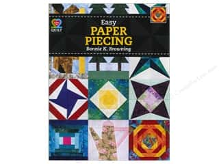 Paper Pieces Sewing Construction: American Quilter's Society Easy Paper Piecing Book by Bonnie K Browning