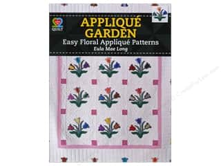 "Floral & Garden 11"": American Quilter's Society Applique Garden Book by Eula Mae Long"
