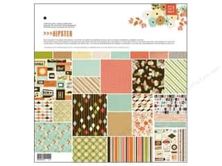 Tabs ABC & 123: BasicGrey Collection Pack 12 x 12 in. Hipster