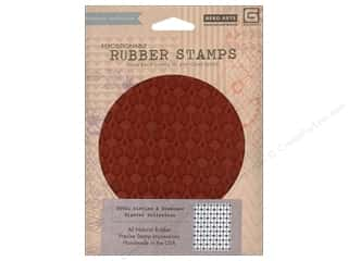 Rubber Stamping $5 - $6: BasicGrey Rubber Stamp Hipster Circles & Diamonds