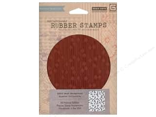 Weekly Specials Beading: BasicGrey Rubber Stamp Bead Background
