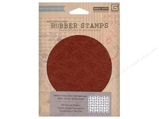 BasicGrey Stamp Cling Mint Julep Tiny Deer Backgrd