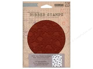 BasicGrey Rubber Stamp Mint Julep Tiny Flower Clusters
