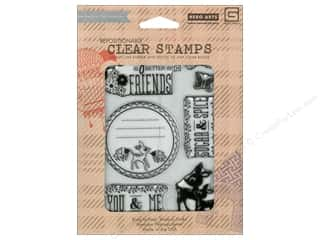 Clearance Plaid Stamps Clear: BasicGrey Clear Stamps 7 pc. You & Me
