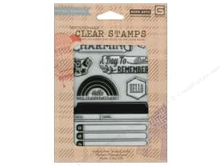 Clearance Plaid Stamps Clear: BasicGrey Clear Stamps 7 pc. Charming
