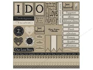 Canvas Corp Paper 12x12 I Do Sampler On Kraft (15 piece)