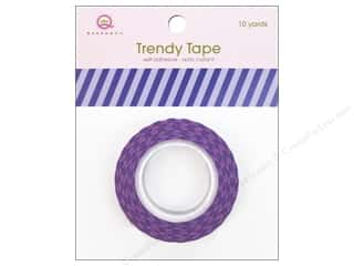 Queen&Co Trendy Tape 10yd Vertical Stripes Purple