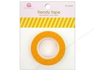 Queen&amp;Co Trendy Tape 10yd Vertical Stripes Yellow