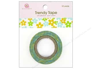 Queen&amp;Co Trendy Tape 10yd Bitty Blooms Summer
