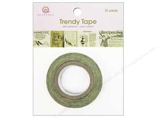 Queen&Co Trendy Tape 10yd Vintage Labels