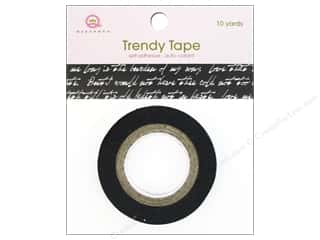 Queen&Co Trendy Tape 10yd Script