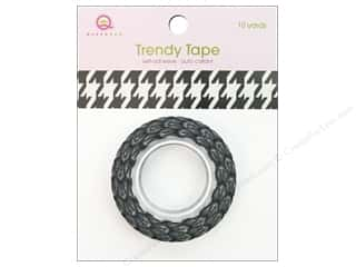 Queen&amp;Co Trendy Tape 10yd Houndstooth