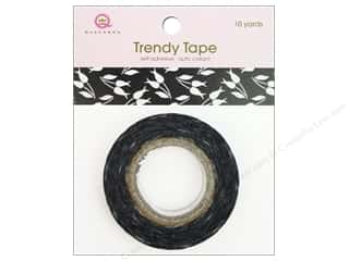 Queen&amp;Co Trendy Tape 10yd Tulip Vine