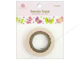 Glue and Adhesives Queen&Co Trendy Tape: Queen&Co Trendy Tape 10yd Butterfly