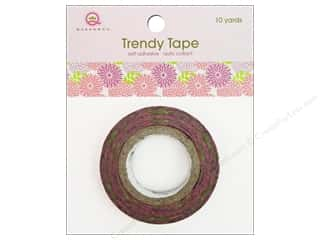 Queen&amp;Co Trendy Tape 10yd Pom Pom Bouquet