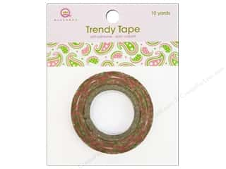 Queen & Co Trendy Tape: Queen&Co Trendy Tape 10yd Paisley Girls