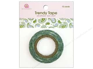 Queen & Co Trendy Tape: Queen&Co Trendy Tape 10yd Paisley Boys