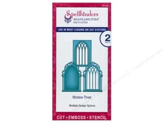 Spellbinders Metal Stencils: Spellbinders D-Lites Die Window Three
