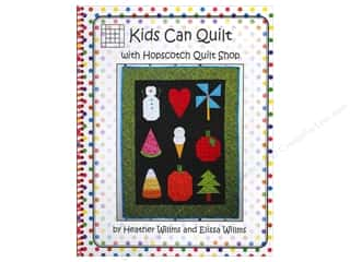 Quilter's Gift Shop Hearts: Hopscotch Quilt Shop Kids Can Quilt Book by Heather Willms and Elissa Willms