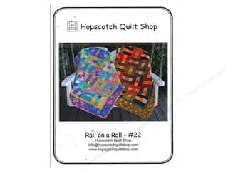 Quiltsillustrated.com Jelly Roll Patterns: Hopscotch Quilt Shop Rail On A Roll Pattern