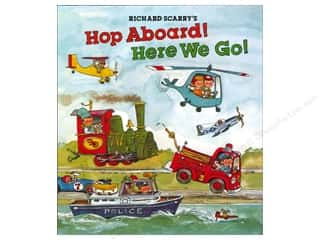 Hop Aboard Here We Go Book by Sterling Richard Scarry's