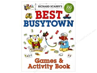 Activity Books / Puzzle Books: Sterling Richard Scarry's Best Busytown Games & Activity Book