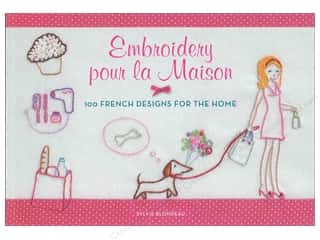 Books & Patterns $0 - $6: Harper Collins Embroidery pour la Maison Book by Sylvie Blondeau