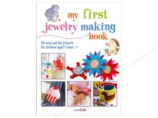 Books & Patterns Beading & Jewelry Making Supplies: Cico My First Jewelry Making Book