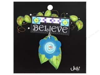 Pins Clearance: Jody Houghton Pins Inspirational Flower Believe