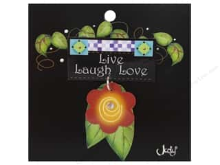 Pins Clearance: Jody Houghton Pins Inspirational Flower Live, Laugh, Love