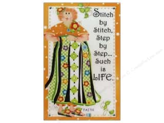 Magnets: Jody Houghton Magnets Quilting Sisters Faith